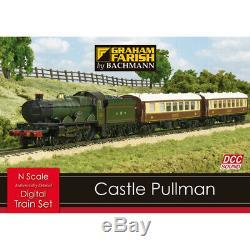 Graham Farish N Gauge Digital Sound Train Set 370-160 Castle Pullman