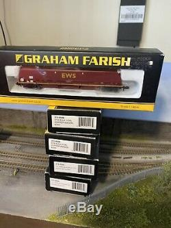 Graham Farish N Gauge HTA Rake Of 5