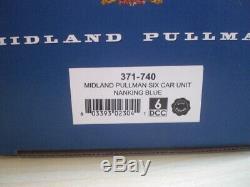 Graham Farish N Gauge MIDLAND PULLMAN NANKING BLUE NEW, see details Dapol com