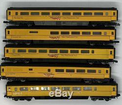 Graham Farish N Gauge Network Rail New Measurement Train mk3 coaches