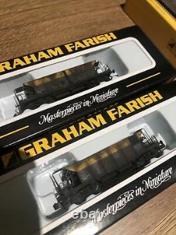 Graham Farish N Gauge Seacow Rake Of 5 Dutch Departmental