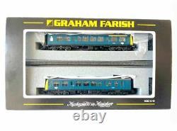 Graham Farish by Bachmann N Scale 371-876 Class 108 DMU BR Blue (Two Car)