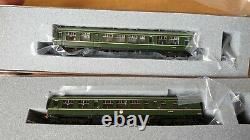 Graham Farish class 108 2 CAR DMU BR GREEN SPEED WHISKER 371-875 N gauge