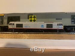 Graham Farish class 60 60099 Tata silver n gauge zimo sound fitted Paul Chetter