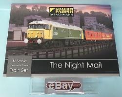 Graham Farish'n' Gauge 370-130 The Night Mail Train Set Boxed