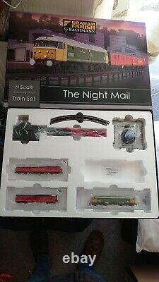 Graham Farish'n' Gauge 370-130'the Night Mail' Train Set Excellent