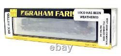 Graham Farish'n' Gauge 371-381 Br Green Class 40 Diesel Loco Weathered/dcc