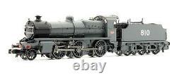 Graham Farish'n' Gauge 372-933 Secr Grey 2-6-0 N Class'810' Steam Loco DCC
