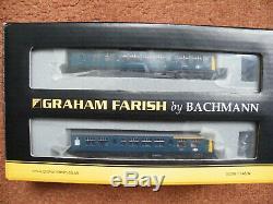 Graham Farish n gauge Class 108 3 Car DMU BR Blue