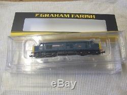 Graham farish 371-465Z Class 37/0 William cookworthy BR Blue N gauge