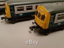 Graham farish 373 511 class 101 three car DMU BR blue/grey