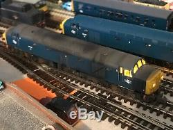 Graham farish n gauge Class 40 Sound Fitted Weathered