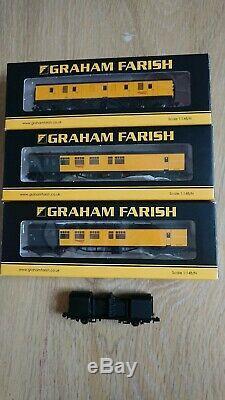 Graham farish n gauge Network Rail Coaches Optical Car