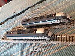 Kato Graham Farish N-Scale Le Shuttle Eurotunnel Loco and Dummy