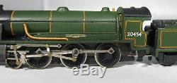 Kitbuilt/ Farish N gauge Ex-SR N15 King Arthur, BR Green, rare, exc, 5 pole