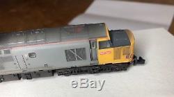 Mercig Studios Class 37 37502 Railfreight Grey. 6 pin DCC Ready. Dapol or Farish
