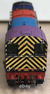 Mercig Studios N Gauge Class 08 08682 Lionheart Bombardier Livery