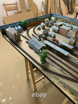 Model railway n gauge layouts