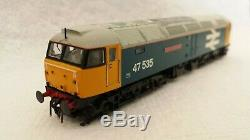 N GAUGE FARISH CLASS 47 no. 47535 TTS DCC SOUND