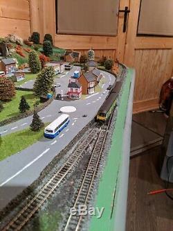 N Gauge Complete Railway Set