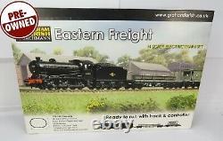N Gauge Farish 370-260 Eastern Freight Train Set J39 Loco + Wagons, Track etc