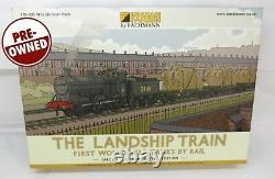 N Gauge Farish 370-300 The Landship Train 1st WW Loco + 3 Wagons & Loads