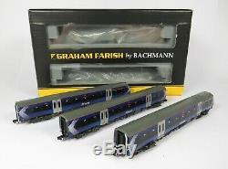 N Gauge Farish 371-433 DCC Fitted Class 170 3 Car DMU First Scotrail Loco