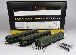 N Gauge Farish 371-886 Class 108 3 Car DMU BR Green Loco
