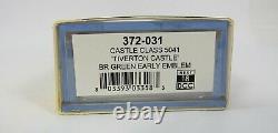 N Gauge Farish 372-031 Castle Class 5041 Tiverton Castle BR Green Loco