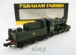 N Gauge Farish 372-625 Ivatt Class 2MT 2-6-0 46521 BR Green Loco