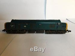N Gauge Farish Class 37 DCC Sound by Wickness Models BR Blue 37239 Weathered
