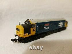 N Gauge Farish Class 37 No. 37418 DCC SOUND in BR Large Logo livery