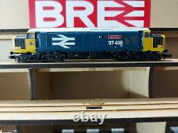 N Gauge Farish Class 37 No. 37418 in BR Large Logo livery. DCC SOUND