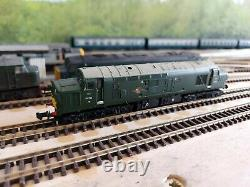 N Gauge Farish Class 37 No. D6714 in BR GREEN LIVERY DCC SOUND