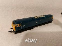 N Gauge Farish Class 47 No. 47035 in BR Blue livery. DCC SOUND
