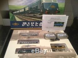N Gauge Graham Farish Blue Pullman Collectors set with Fitted Sound
