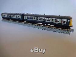 N Gauge Graham Farish Class 108 2 car DMU BR Blue & Grey 371-877A