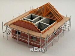 N Gauge Graham Farish Scenecraft Building House Under Construction (42-024)