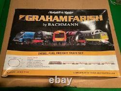 N Gauge. Graham Farish by Bachmann. Item 370-251. Diesel Fuel Freight set