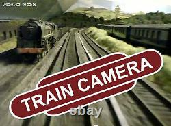 N Gauge Model Railway Video Camera for Dapol Peco Graham Farish Lima Minitrix