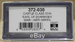 N Graham Farish 372-030 Castle Class #5044'Earl of Dunraven' GWR Lined Green