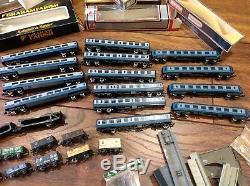 N Guage Railway Set, Graham Farish, Lima, Wren, Locomotives Rolling Stock Boxes