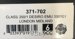 N Scale Graham Farish Bachmann Class 350/1 Desiro EMU 350101 London Midland Dcc