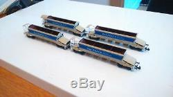 N gauge Graham Farish Autoballaster wagons Railtrack X4