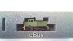 N gauge Industrial Hudswell Clarke shunter 0-6-0 with Graham Farish chassis