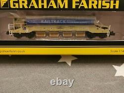 N gauge Wagons. JJA Mk2 Autoballaster. Rail Track Livery. 377-702 + 377-700. New