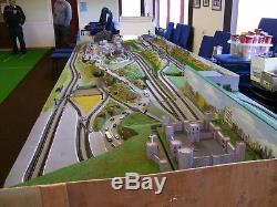 N gauge model railway Layout