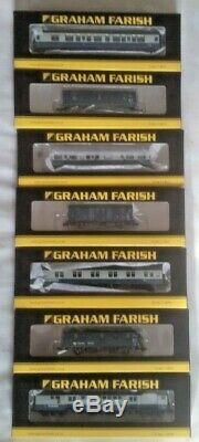 PRICE DROP! 7 x Graham Farish BR Blue Era Coaches & Vans RRP £245.65 NEW