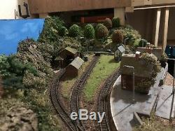 Small N Gauge layout 2ft X 4ft Exhibition Layout
