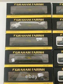 Used Farish N gauge HHA Bogie Wagon Freightliner some weathered. X 10